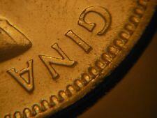 1963 Five Cents Nickel ***** Doubling in Legend