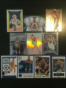 🔥 KLAY THOMPSON - 10 CARD LOT - ROOKIES PRIZM PREMIUMS 💎INVEST💎