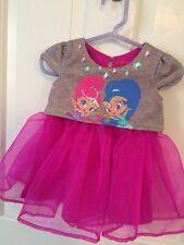 Nickelodeon Princess Pink Baby Girl Dress 12 Mos.