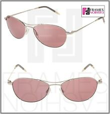 OLIVER PEOPLES AERO OV1005S 54mm Silver VFX Photochromic Pink Mirrored 1005