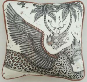 Emma J Shipley LYNX NUDE cushion cover 41cm x 41cm