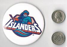 THE NY ISLANDERS Fisherman 1995 PROMO PIN Button Badge HOCKEY
