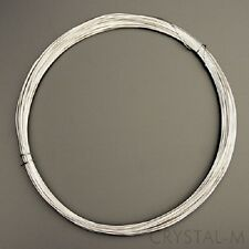 3 m Silberdraht (echt); 925 Silber; Strickdraht 0,5 mm (8,32 € / m)
