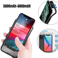 Battery Charger Case For iPhone 11 Pro Max 6500mAh Power Bank Charging Cover