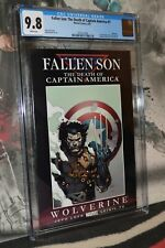 Fallen Son: The Death of Captain America #1 CGC 9.8 Wolverine 1 of 2 Covers
