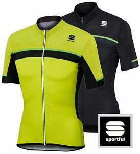 Sportful Pista Men's Full Zip Cycling Jersey : 2 Colors : FINAL CLEARANCE
