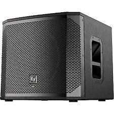 """2 X Electro-Voice EV Elx200-18sp 18"""" Powered 2400w Bass Sub Speaker 3yr"""