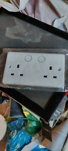 Aurora Aone Smart Socket double wall,made for  Samsung smartthings zigbee energy