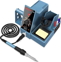 Soldering Station Weller Soldering Iron Kit Temperature Adjustable Rapid Heating