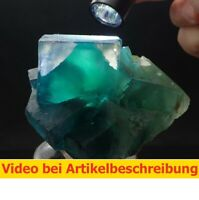 7282 Fluorite ca 10*9*8 cm  Okorusu Namibia 2001 MOVIE