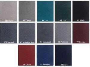 20oz cut-pile Marine Outdoor BASS Boat Carpet- 6' wide x 25' long- Choose Color!