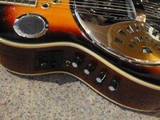 BJB Session Resonator - Gitarre mit Amp. und Speaker