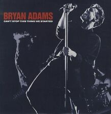 """Bryan Adams Can't Stop This Thing ,& live It's Only Love LIMITED ETCHED UK 12"""""""