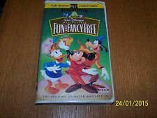 Walt Disney Fun and Fancy Free 50th Anniversary Limited Edition VHS Tape