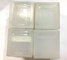 Lot of 20 OFFICIAL OEM Nintendo Gameboy Protective Cases Plastic Dust Covers