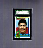 1990 Topps Tiffany #381 JUNIOR SEAU SGC 98 Gem Similar to PSA 10 RC Rookie Card