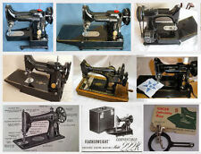 Singer 222k Featherweight Instruction Manual Owners Guide User Ajusters Manual