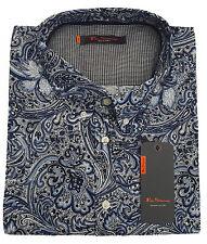 Camisas y polos de hombre de manga larga Ben Sherman color principal azul