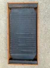 Antique Korean Buddist  Hand Carved Printing Press Plate Bright Scriptures 1800s