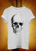 Skull Skeleton Fashion Hipster Funny Men Women Unisex T Shirt Tank Top Vest 530