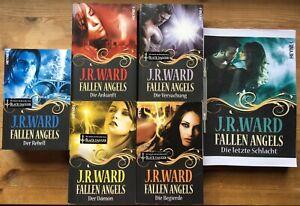 J.R. Ward: Fallen Angels 1,2,3,4,5,6 KOMPLETTE SERIE