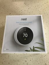 OB Nest T3007ES 3rd Generation Learning Programmable Thermostat Stainless Steel