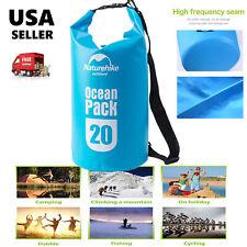 Heavy Duty Kayak Canoe Waterproof Dry Bag 20L Waterproof Dry Bag Storage Sack US