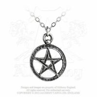 ALCHEMY ENGLAND Gothic Steampunk Pewter Jewellery Pendant NECKLACE Dante's Hex