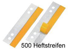 Heftstreifen PP 10x 25 10 verschiedene Farben 250