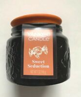"Yankee Candle Halloween Collection Jar Candle, ""SWEET SEDUCTION"",  NEW"