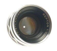 VOIGTLANDER SEPTON 1:2/50mm VINTAGE CAMERA LENS FOR BESSAMATIC ULTRAMATIC