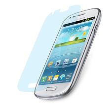 6x Matt Schutz Folie Samsung S3 mini Anti Reflex Entspiegelt Display Protector