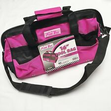 16-Inch Pink Tool Bag - by The Original Pink Box - PB16TB