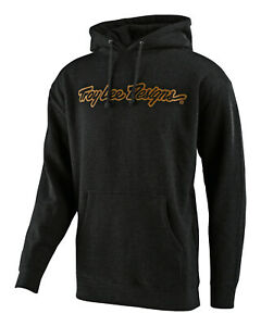 Troy Lee Designs Pullover Hoody SIGNATURE - Charcoal