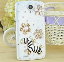 Bling Clear Crystal Diamonds Soft TPU back Ultra-thin Phone Case Cover Skin B-2