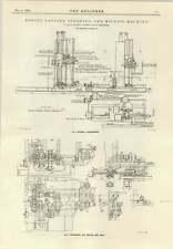 1914 G A Harvey Govan Boring Studding Milling Machine Plans