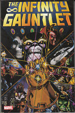 4 CT LOT TPB -- INFINITY GAUNTLET - WAR AND CRUSADE VOL1  AND 2  FINE TO NM