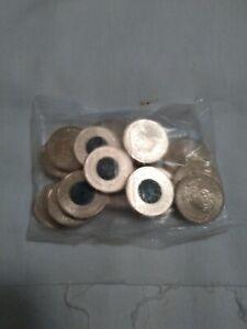 2020 Donation Dollar $1 bag Unc - 20 coins - dollar Vacuum Sealed, reg post