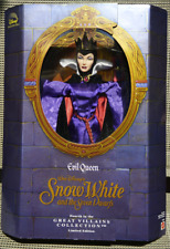 "Disney Evil Queen from Snow White and the Seven Dwarfs 12"" Doll 1998"