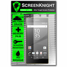 Screenknight Sony Xperia Z5 Premium Front Screen Protector INVISIBLE SHIELD