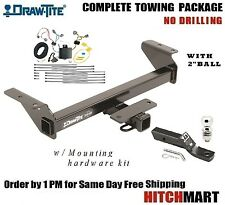 "7K TRAILER HITCH PACKAGE FOR 2016-2017 TOYOTA TACOMA PICKUP  2"" RECEIVER  75238"