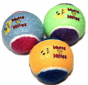 Small Squeaky Dog Balls, Small Dogs Toy 3 Pack