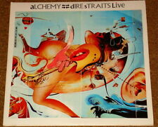 "DIRE STRAITS LIVE ALCHEMY ORIGINAL 12"" LP 1984   ROCK & ROLL"