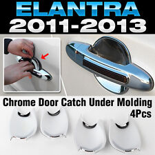 Chrome Door Catch Handle Under Molding Cover trim for HYUNDAI 2011-16 Elantra MD
