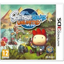 Scribblenauts Unlimited Game 3DS Nintendo 3DS, 2DS 3DS XL PAL Brand New