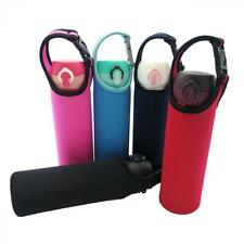 Protable Insulated Water Drink Bottle Cooler Carrier Cover Sleeve Tote Q
