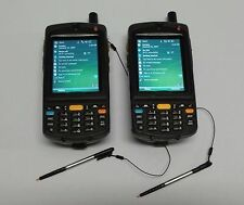LOT (2) MC75 MC7596-PYCSKRWA9WR 1D Motorola Barcode Scanner GSM Camera