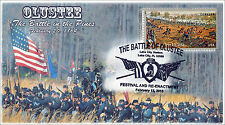 2015, The Battle of OLUSTEE, Civil War, Pictorial Postmark, Item 15-026