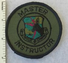 SAC MASTER INSTRUCTOR PATCH US AIR FORCE STRATEGIC AIR COMMAND Subdued ORIGINAL
