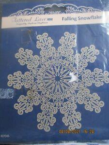 Falling Snowflake Die Cut